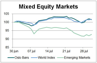 Makrokommentar-juli-mixed-equity-markets
