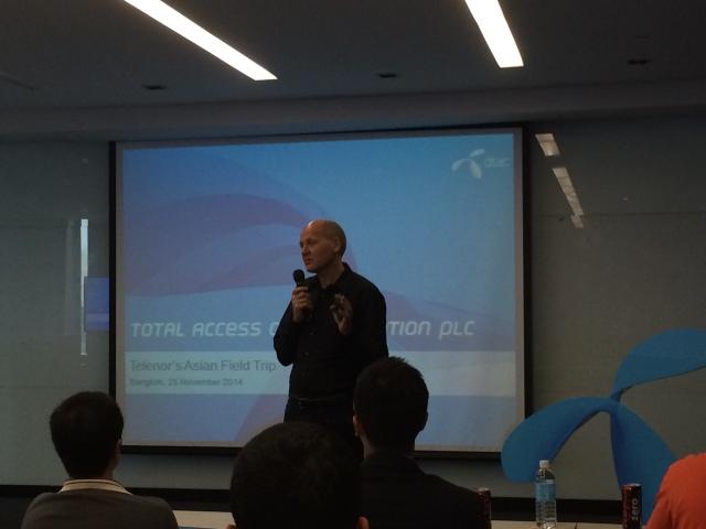 Sigve Brekke - CEO dtac og leder av Telenor i Asia