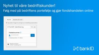 Nyhet: ODIN Online for bedrifter