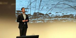Martin Graftås gir tips til hvordan få dårlig avkastning på Den store aksjekvelden i Oslo tirsdag 20. november