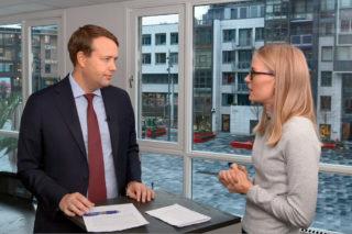 Investeringsdirektør Vegard Søraunet snakker om at fokus på miljø og bærekraftige løsninger, som Nibe allerede har holdt på med en stund, er i vinden som aldri før.