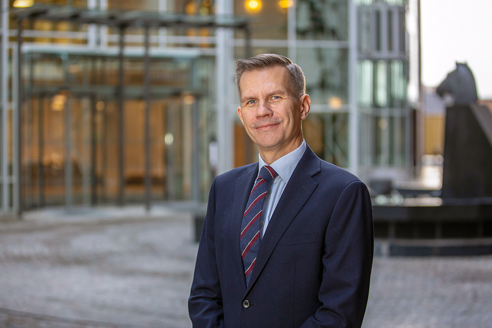Nils Hast, ansvarlig for rentefondene i ODIN