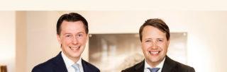 Investeringsdirektør Vegard Søraunet og forvalter Jonathan Schönbäck